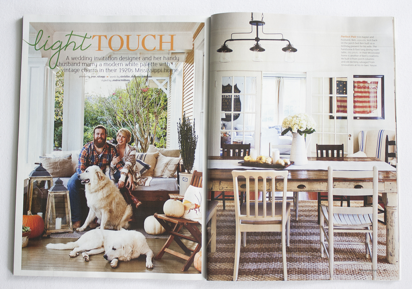 Erin Ben S Cottage Featured In Flea Market Style Lucky Luxe