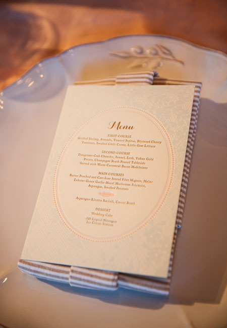 15Rustic-Elegant-Wedding-San-Francisco-Asian-Art-Museum-Sarah-Peet-menu-lace