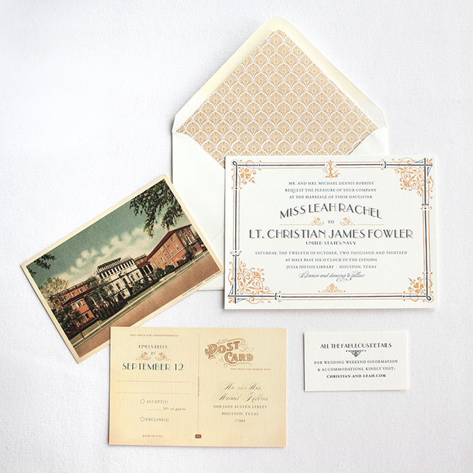 our wedding invitation designs lucky luxe couture correspondence