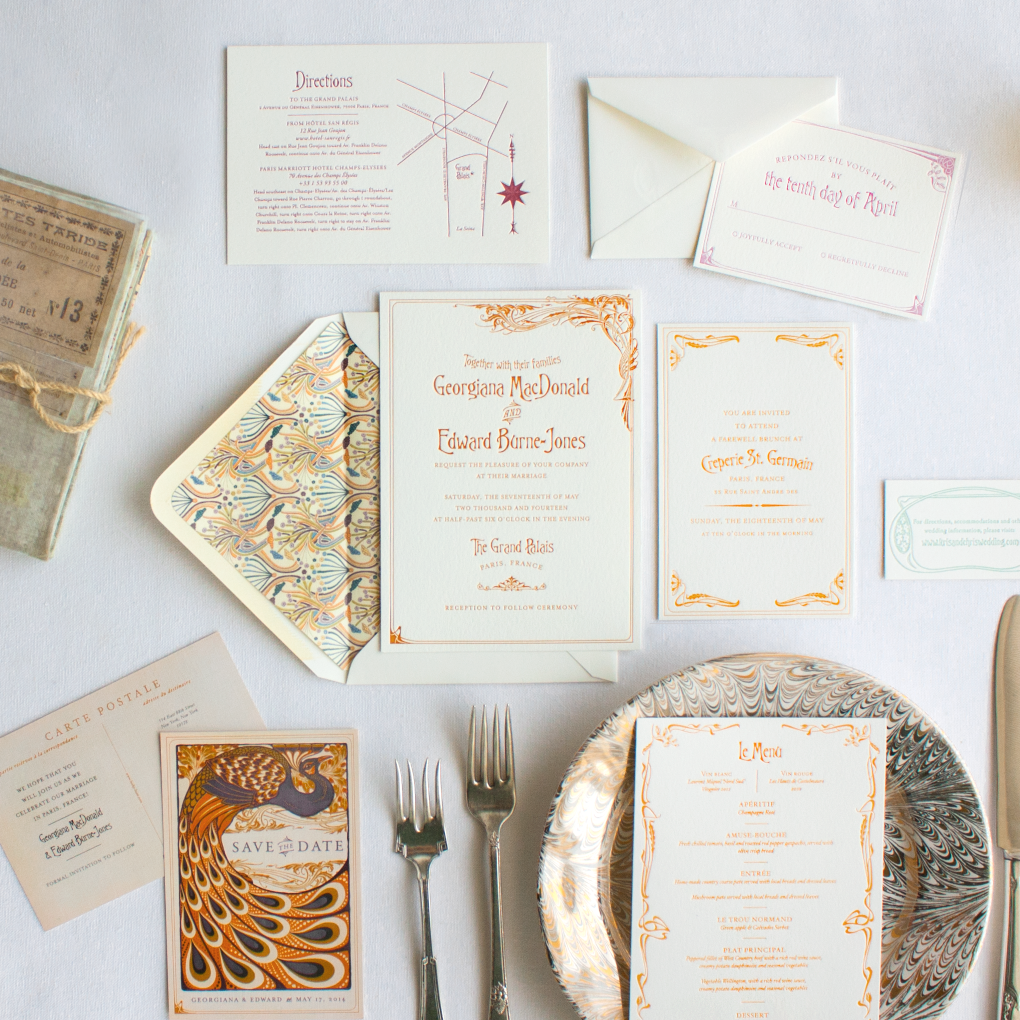 Bernhardt for Martha Stewart Weddings | Lucky Luxe Couture ...