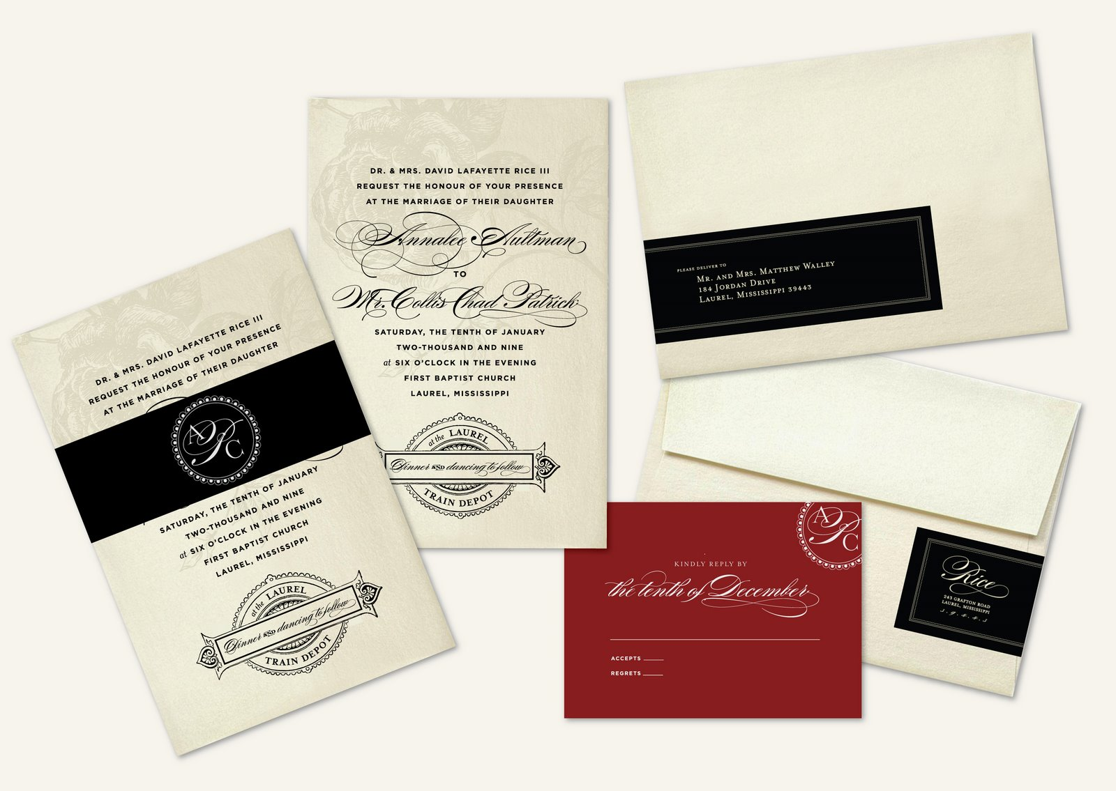 Rice/Patrick Wedding | Lucky Luxe Couture Correspondence ...